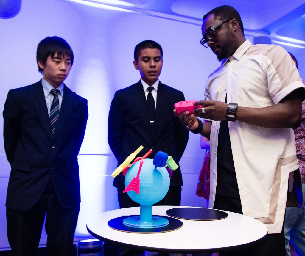 I.am 3D Experience Students Display Work In London Exhibit