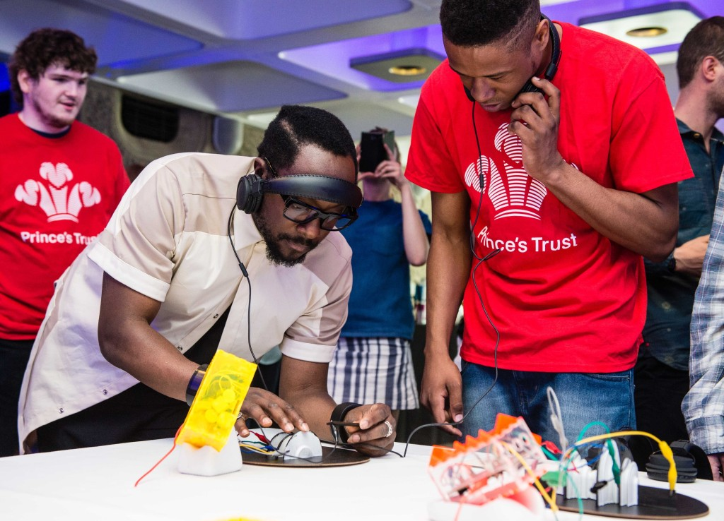 will i am and the Prince's Trust help young people join the