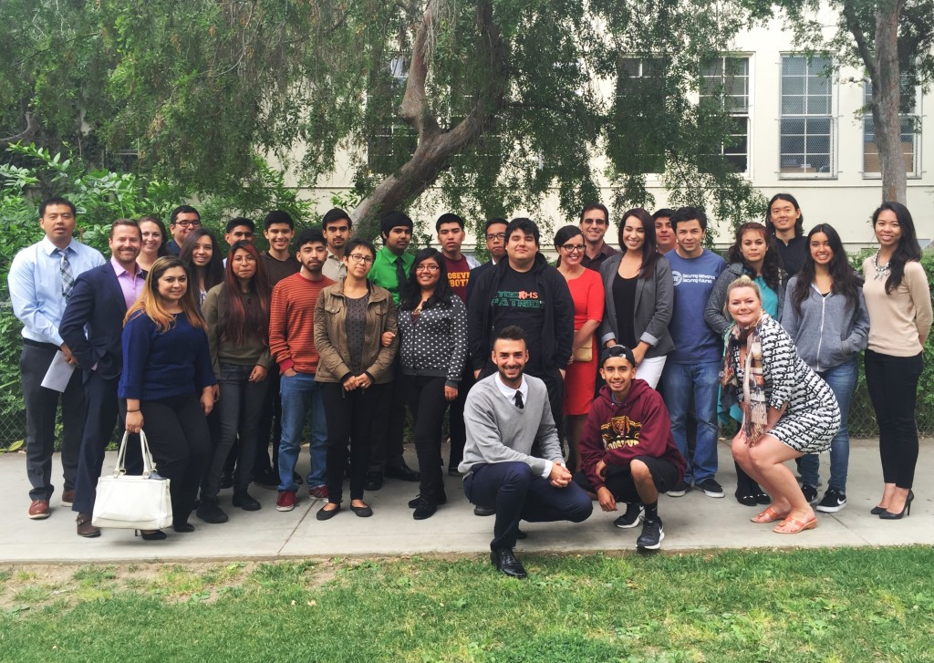 Last Week, Tech Professionals From Los Angeles Based IT Company Prosum  Hosted A Resume Writing Workshop At Roosevelt High School.  Resume Writer Los Angeles