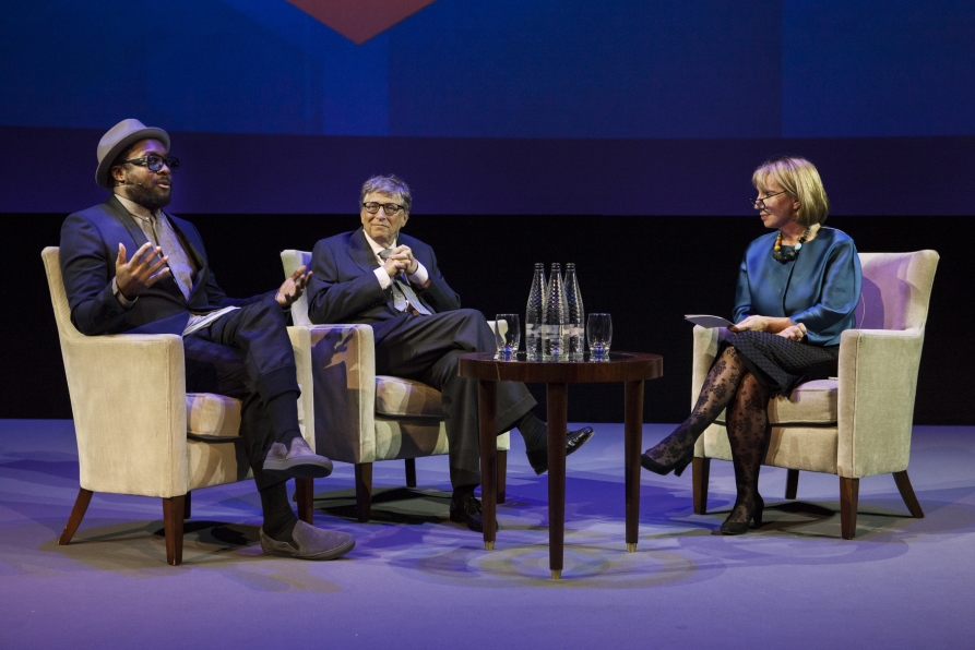 will-i-am-bill-gates-and-evening-standard-editor-sarah-sands-at-the-science-museum-credit-science-museum-small