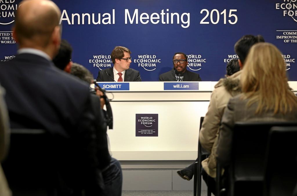 Press Conference: 'Will.I.Am': William Adams, Georg Schmitt